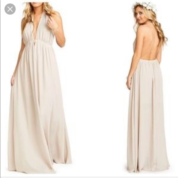 8f30c4501c3 Show me your mumu Luna halter gown